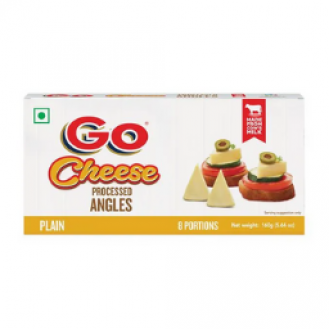 Gowardhan processed Cheese angles - 160 gms - 8 portions