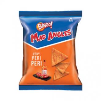 Bingo Mad Angles Very Peri Peri: 130 gms