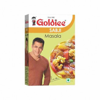 Goldiee Sabji Masala: 100 gms