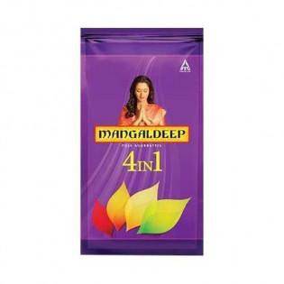 Mangaldeep 4 in 1 Pooja Agarbatti: 114 Units