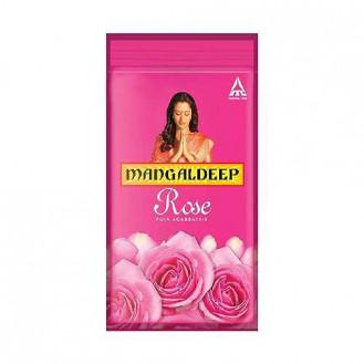 Mangaldeep Rose Pooja Agarbatti: 114 Units