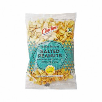 Charliee Plain Salted Peanuts: 180 gms