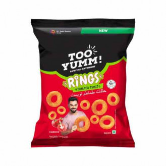 Too Yumm Rings - Tomato Twist, 75 g