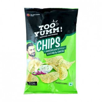Too Yumm American Style Cream and Onion Potato Chips 130gm