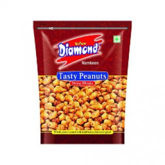 Tasty Peanuts - Yellow Diamond Namkeen - 280 gms